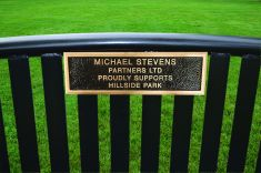 Northgate Bench Bronze Plaques