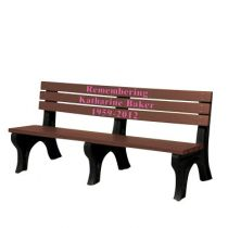 Custom Pink Inlay Benches