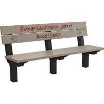 Traditional Inground Buddy Bench