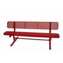 Heavy-Duty Plastic-Coated Benches