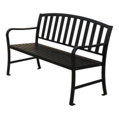 Steel Slat Benches